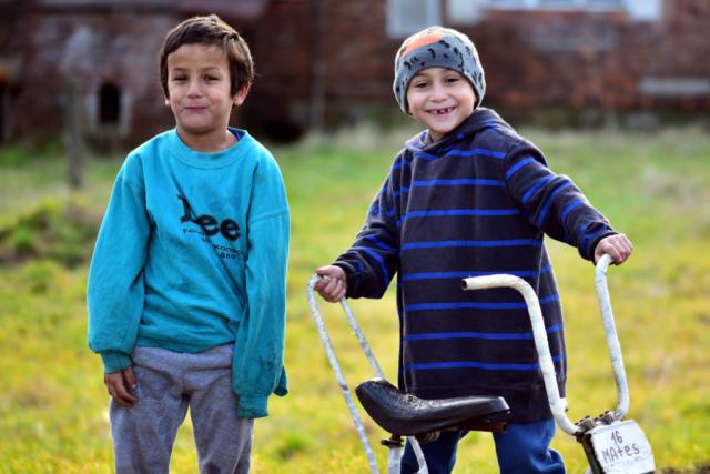 two gypsy boys