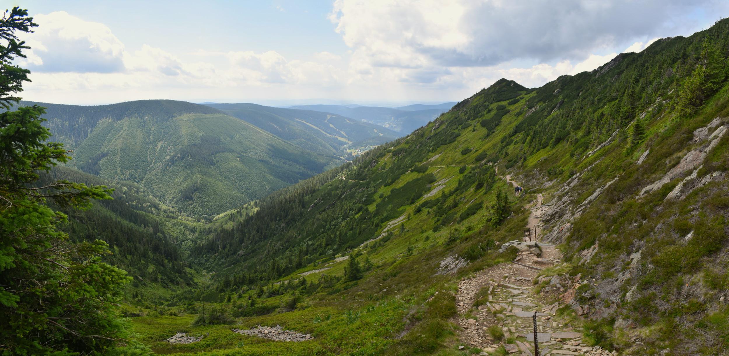 Stará Bucharova cesta Krkonoše